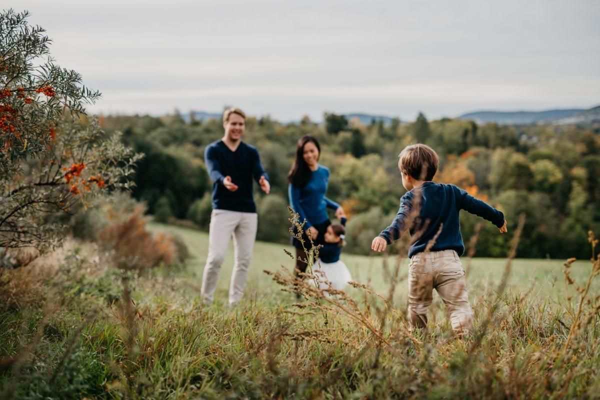 Familiefotografering, familiebilder, høstbilder, høst, epler-1