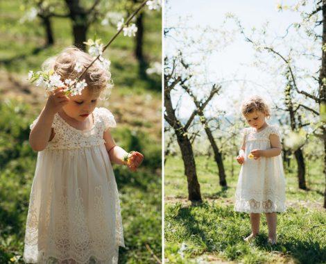 Familie, vårblomster, barnefotografering, familiefotografering, babyfotografering - 2